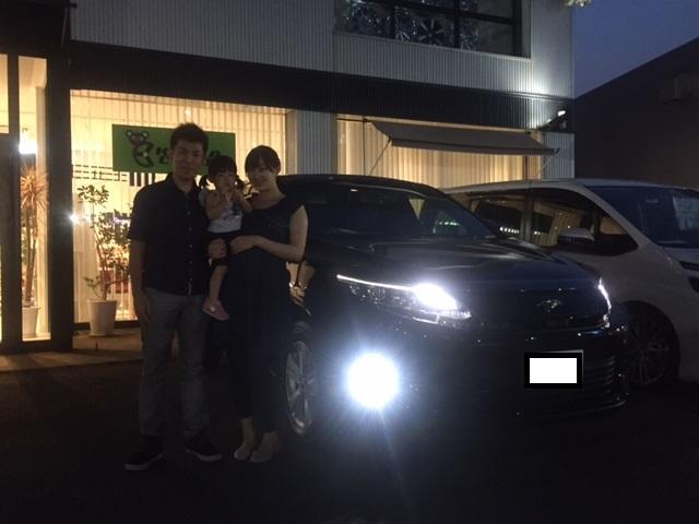 新車ハリアー M様納車☆
