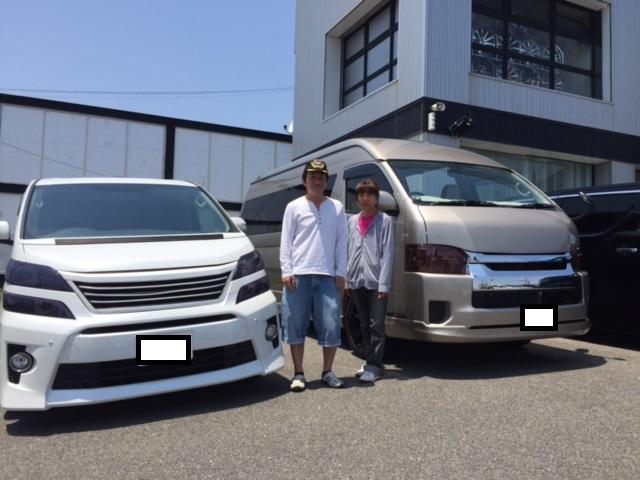 新車ハイエース 長野県のT様納車☆