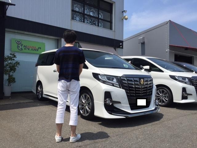 三重県のK様新車アルファード納車☆