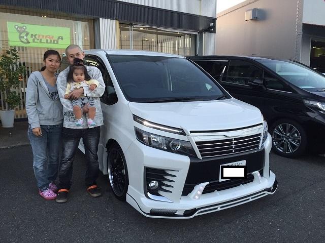 三重県のK様 新車ヴォクシー納車☆