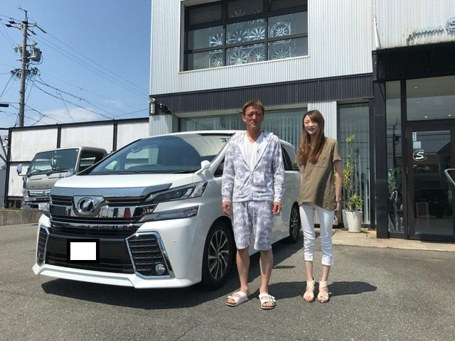 新車ヴェルファイア 知多市のT様納車☆