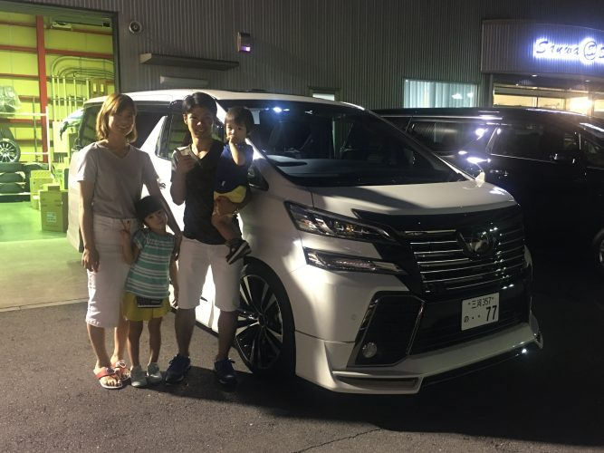 ★M様 新車ヴェルファイア ゴールデンアイズ★ご納車おめでとうございます!
