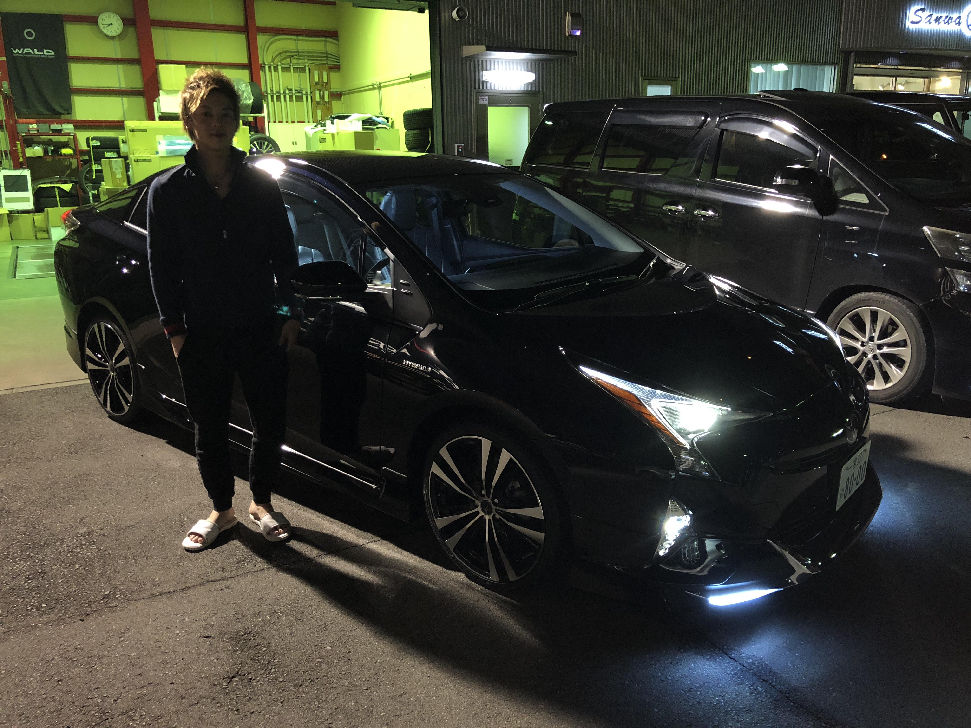 M様 新車プリウス 納車おめでとうございます!