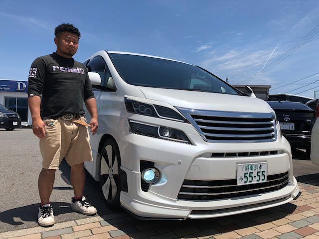 神奈川県よりM様 20系ヴェルファイアを納車!!