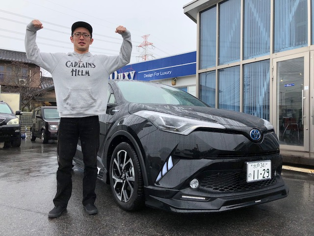 茨城県よりS様 新車C-HRを納車です!!