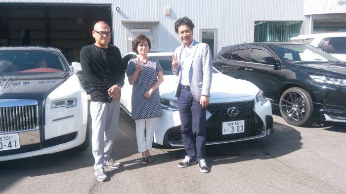 K様 LS500 Fスポーツ 納車☆
