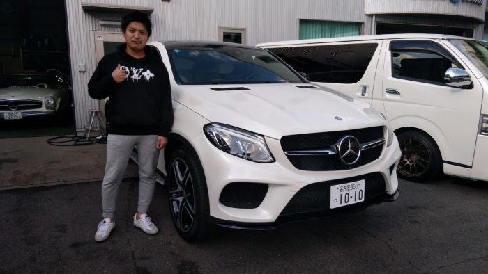 K様 GLE43クーペ AMG 納車☆