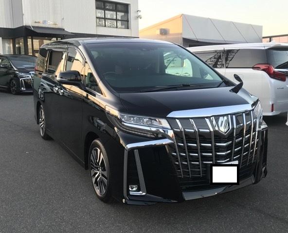 名古屋市のM様 アルファード納車☆