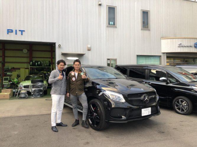 O様 GLE43クーペ AMG 納車☆