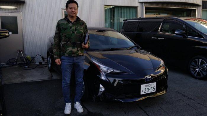 S様 新車プリウスSセーフティパッケージ 納車☆