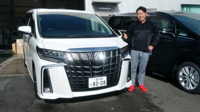 M様 新車アルファードS-Cパッケージ 納車☆