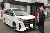 稲沢市のR様 新車ノア納車☆