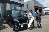 岐阜県のM様 新車スペーシア 納車☆